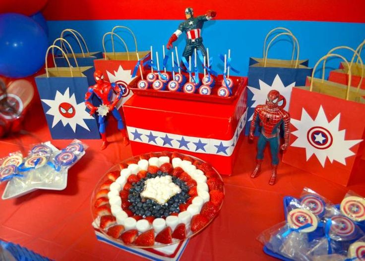37 Cute Spiderman Birthday Party Ideas