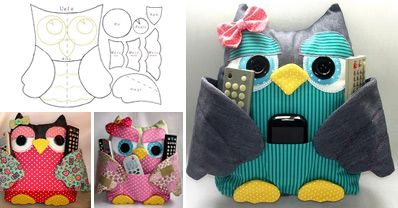How to Make Patchwork Owls - Sew - Handimania