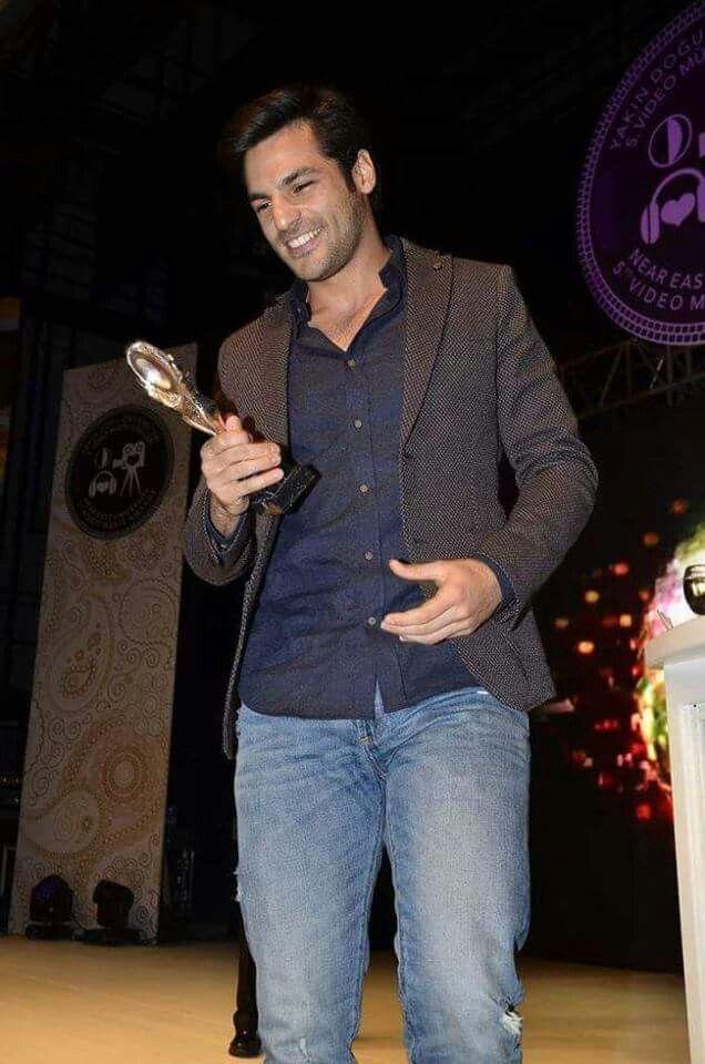 Serkan Çayoğlu wins best actor of the year.  You deserve it baby!