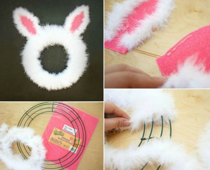 Craft Ideas for Easter for young and old - Cute rabbits & other motives