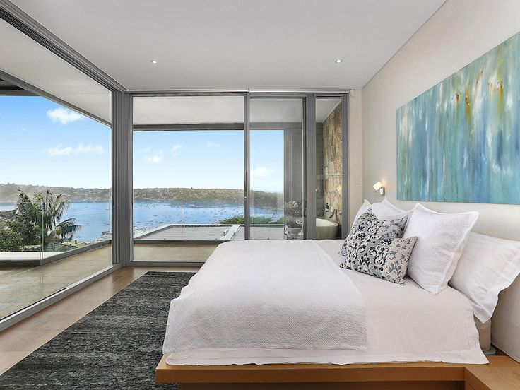 7/5/15 Point Piper, NSW Sales Agent - Michael Pallier Sydney Sotheby's International Realty - Double Bay 02 8355 6783 #bedroom #bed #views