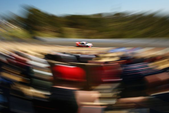 James Courtney drives the #22 Holden Racing Team Holden during the Bathurst 1000, which is round 11 and race 30 of the V8 Supercars Championship Series at Mount Panorama on October 12, 2014 in Bathurst, Australia. (Photo by Mark Kolbe/Getty Images)
