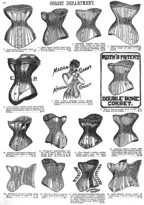 Corset Cornucopia Victorian corsets from Bloomingdales