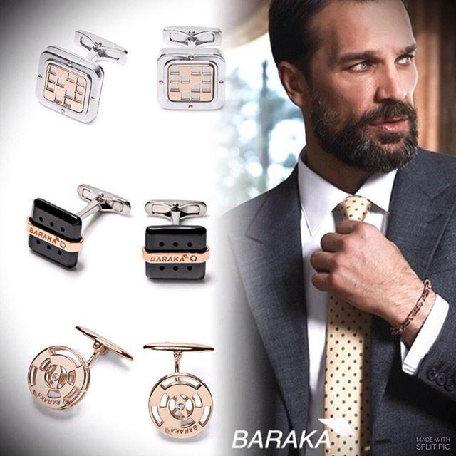"""""""Baraka"""" @baraka_jewelry - внимание к деталям,создающим твой деловой стиль! Образ продуманный до мелочей... www.arteclub.ru #arte #artegallery #jewelryformen #luxury #lux #baraka #zancan"""