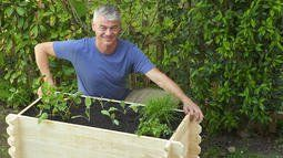Hochbeet befüllen und bepflanzen