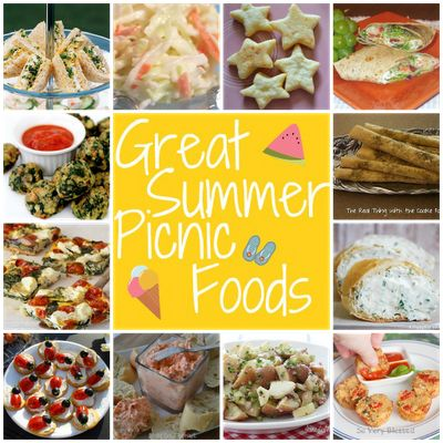 Great Summer Picnic Foods on @SerenityYou food lunch spring summer snacks 5/8