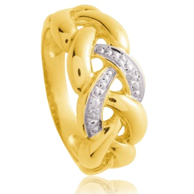 Bague Or tresse Royale http://www.bijoux-or.biz/bague-or-tresse-royale-p-17136.html