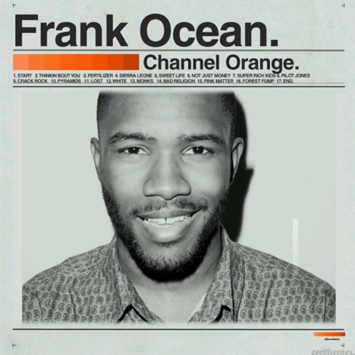 Frank ocean channel orange crushs modelos 3x4