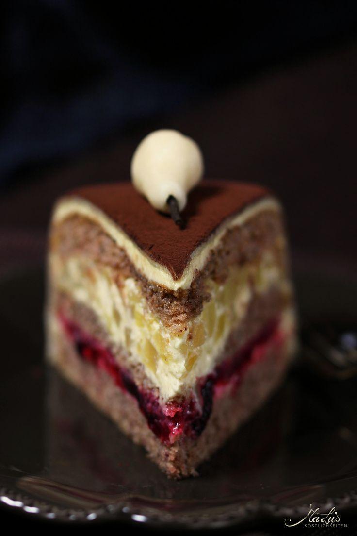 Karamell-Birnen-Torte