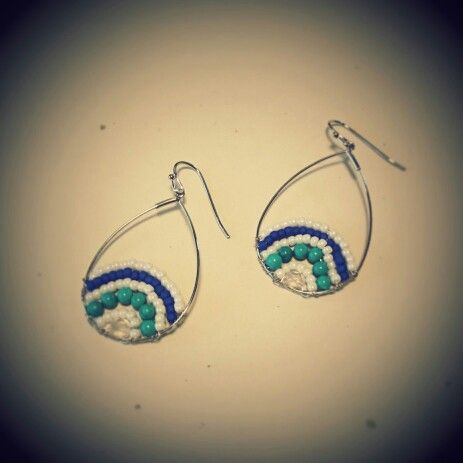 pierced earrings...*