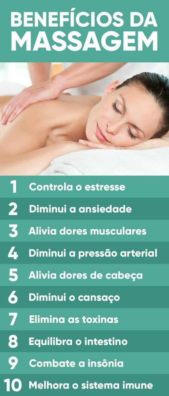 A massagem é uma troca de energias em que através de técnicas de deslizamento, fricção e amassamento, se trabalha o sistema circulatório, linfático, nervoso e energético causando a descontração do corpo e da mente, combatendo a fadiga física e mental.