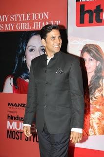 Akshay Kumar at The Hindustan Times Style Awards.