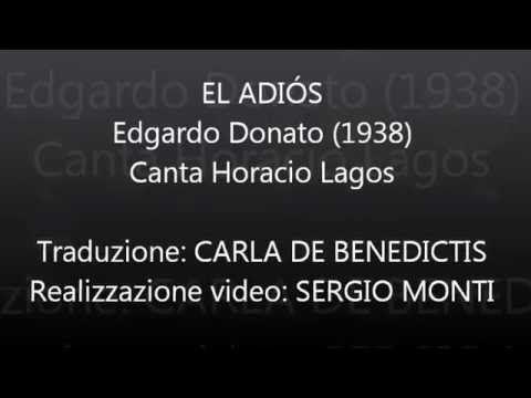 EL ADIÓS - Donato - Traduzione in italiano