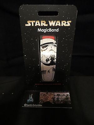 Disney Parks Authentic Star Wars Weekends 2015 Stormtrooper magic band unlinked