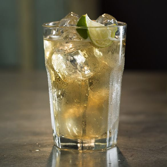 Jameson, ginger, & lime. Three refreshing elements that bring out the best in each other. Ingredients:  50ml Jameson Irish Whiskey, Quality Ginger beer,  Large wedge of lime Method:  Fill a high ball glass with ice  Pour in a shot of Jameson. Top off the glass w/ginger beer. Juice lime wedge & stir. Roughly 1 part Jameson to 3 parts ginger beer.