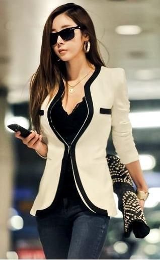 Wish   fashion OL korean blazer