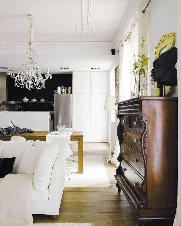 Arredare con mobili antichi e moderni - Contrasti di stile