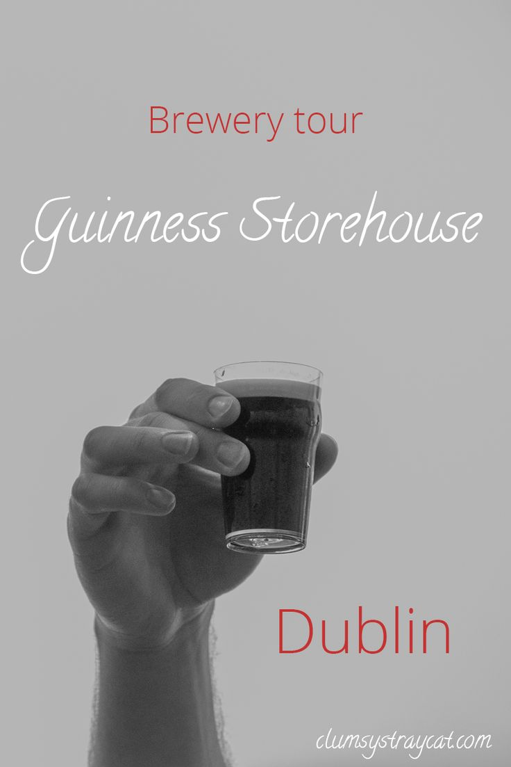 After getting lost on our way to the Guinness Storehouse in Dublin, we were so happy to finally start the Guinness brewery tour. Click to read the full story of how I got lost and my review of this Guinness activity in Ireland's capital.