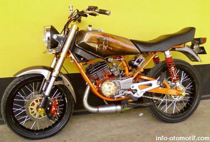 Modif Yamaha RX King, The Real King