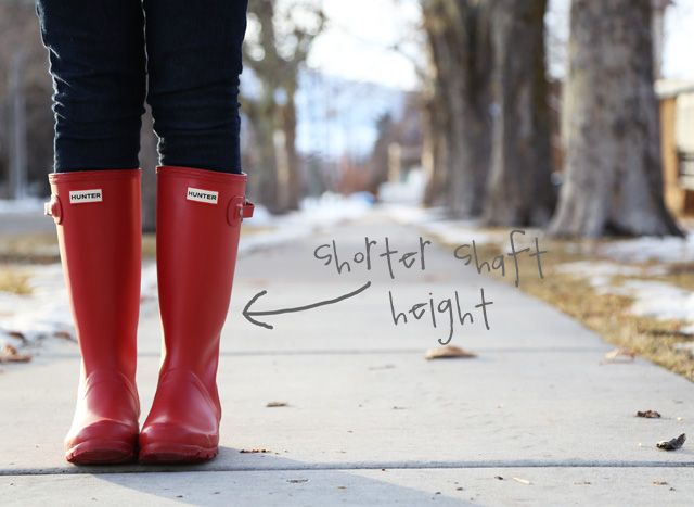review on youth hunter wellies for women. Get a better fit and save money. kids rainboots, red