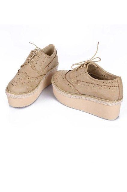 British Platform High Shoes