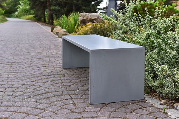 SIMPLY (concrete bench) by Tomas Vacek   1600 x 460 x 450 460 x 460 x 450   designed for Gravelli www.gravelli.com