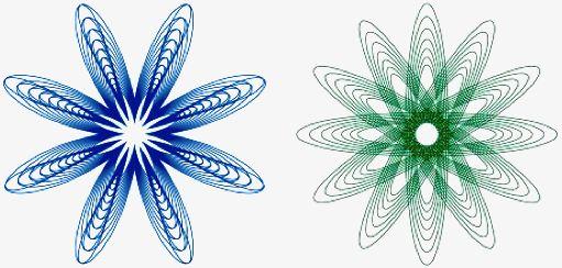 Inspirograph, make free spirograph designs online