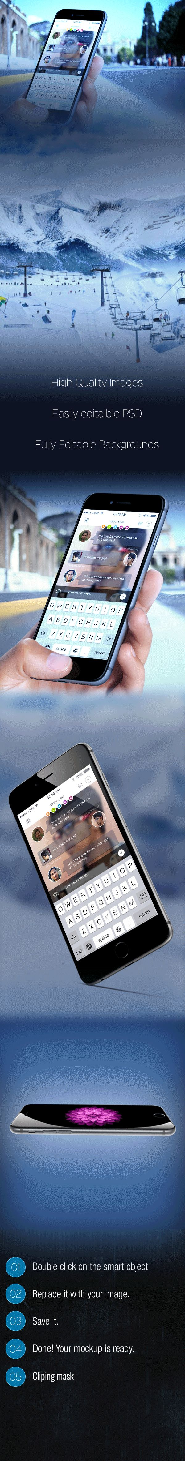 ios6 Chatting apps Design on Behance