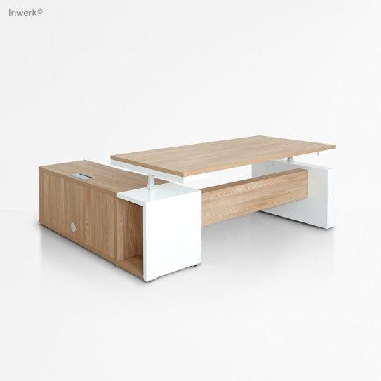 Höhenverstellbare Schreibtische - Höhenverstellbarer Schreibtisch Inwerk Merseburg - (Bild 1 von 17)