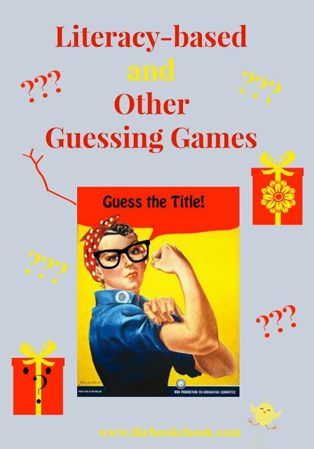 Literacy-Based and Other Guessing Games