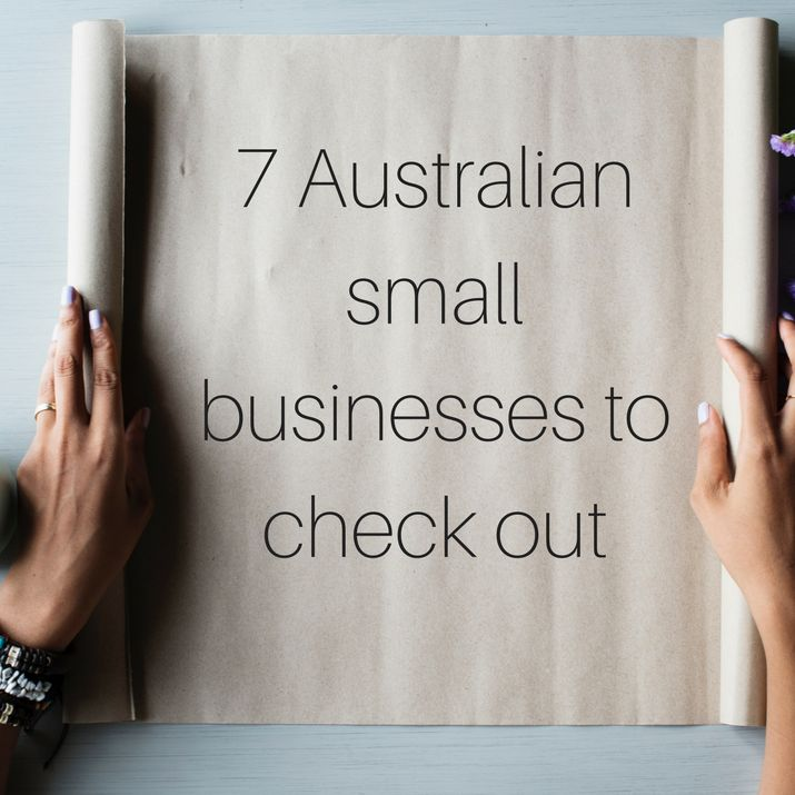 There are so many creative and resourceful small businesses in Australia, here are just a few that I recommend checking out.