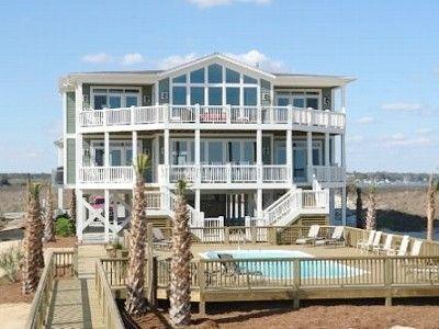 oceanfront beach house at holden beach nc 12 br 12 ba sleeps