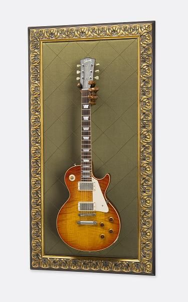 Hang your guitar as art in a frame when you're not playing!