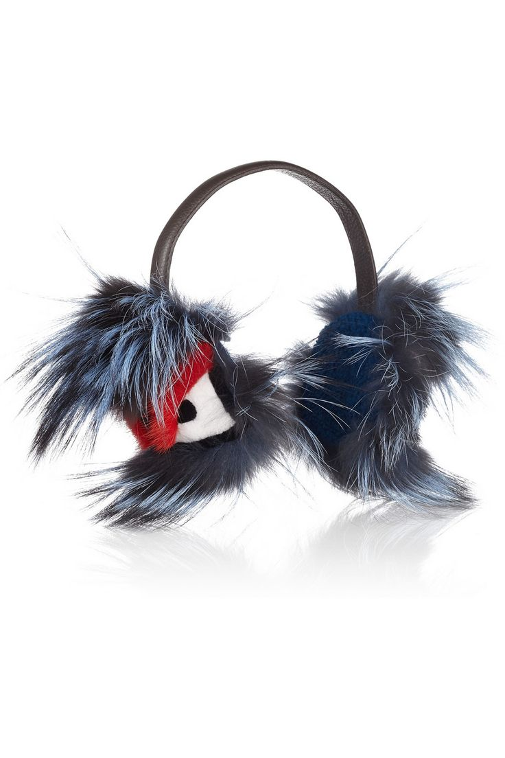 Fendi Fur Monster Earmuffs: Ready To Fight Cold Temperature With Style