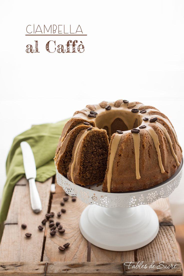Una ciambella soffice al caffè, profumata e deliziosa. Semplicissima da realizzare, per colazioni gustose con il gusto del caffè.