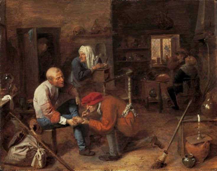 The Operation (Adriaen Brouwer)