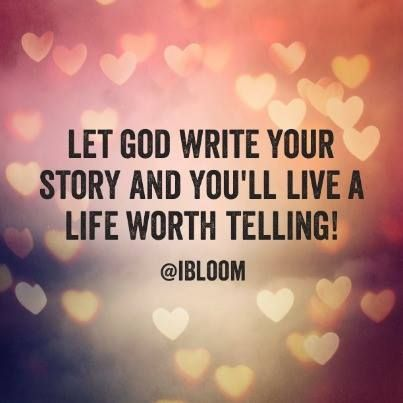 write a story that change your life