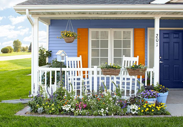 Pinterest for Flower beds in front of house