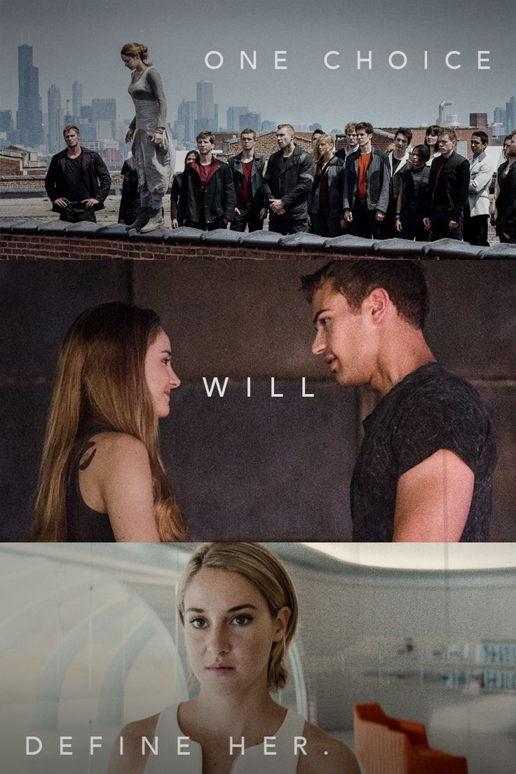 A leap of faith will define her future. #Divergent #Allegiant