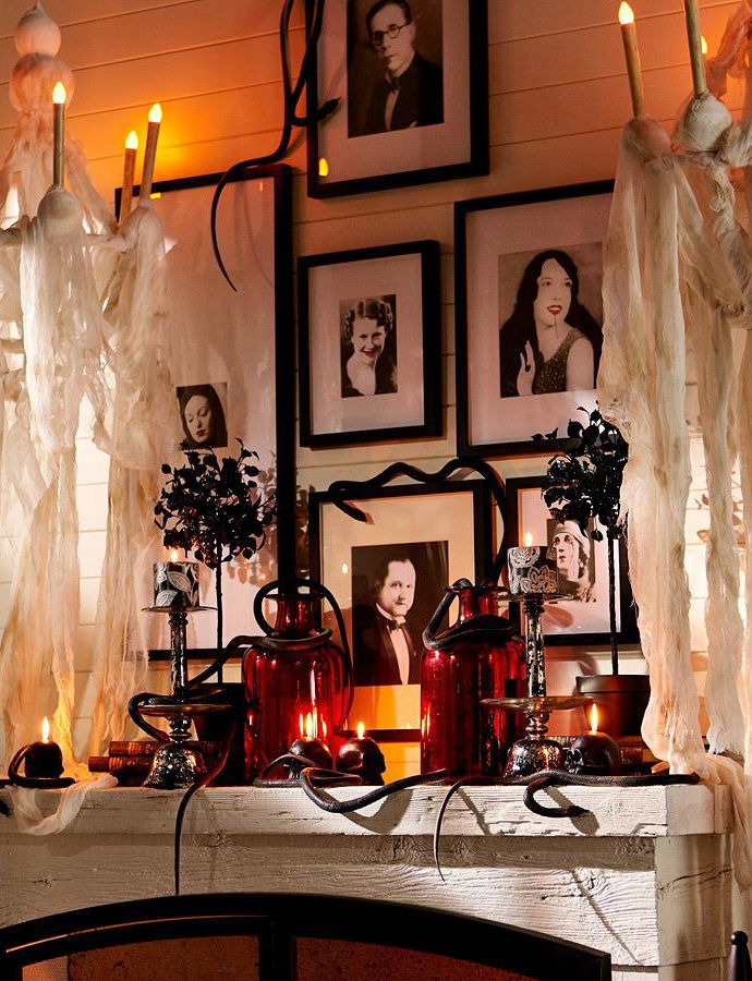 176 best Everyday Is Halloween images on Pinterest Happy halloween - fall halloween decorating ideas