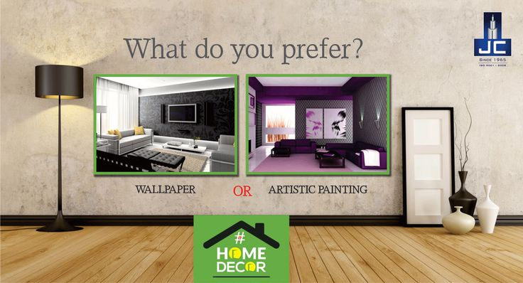 What do you prefer most Wallpaper or an Artistic Painting done to your Home Walls?