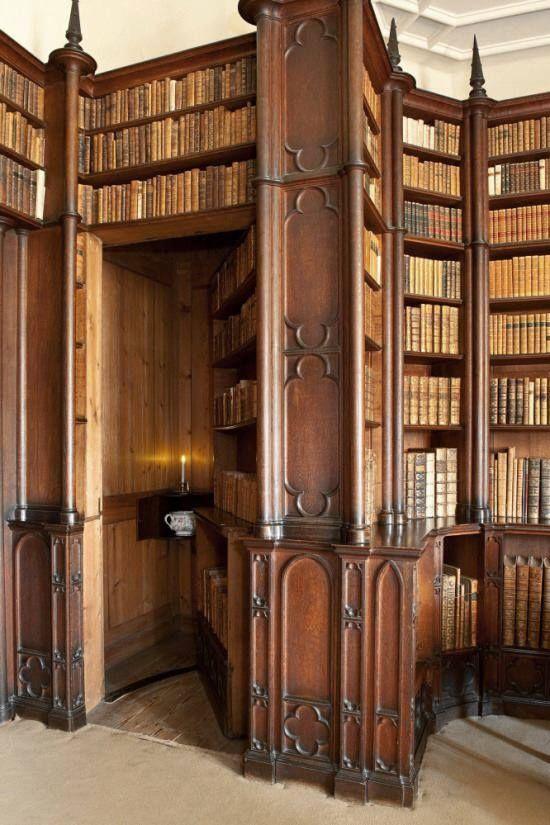 biblioteca Felbrigg Hall #libraries