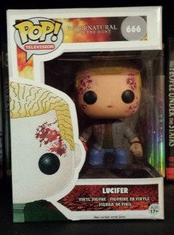 Supernatural Lucifer - Custom Funko pop toy