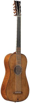 Guitar, 1688, Antonio Stradivari