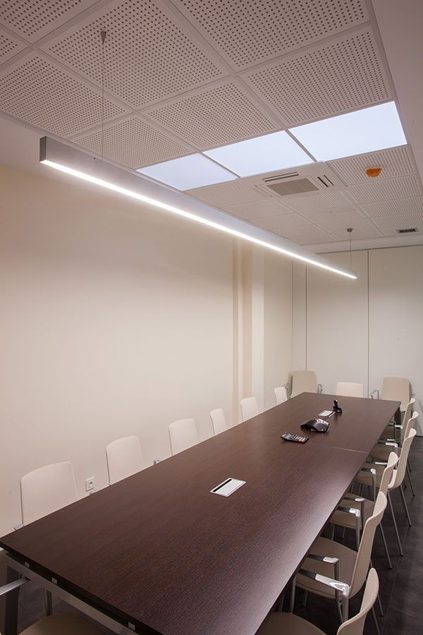 Proyecto de iluminaci n led oficinas del gabinete - Iluminacion bilbao ...