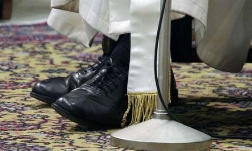 Papa Francisco,  Shoes