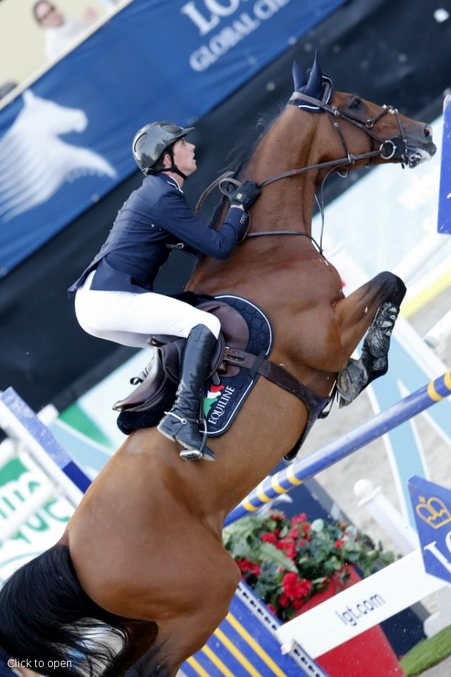 Ben Maher aboard Urico win the Vienna Master