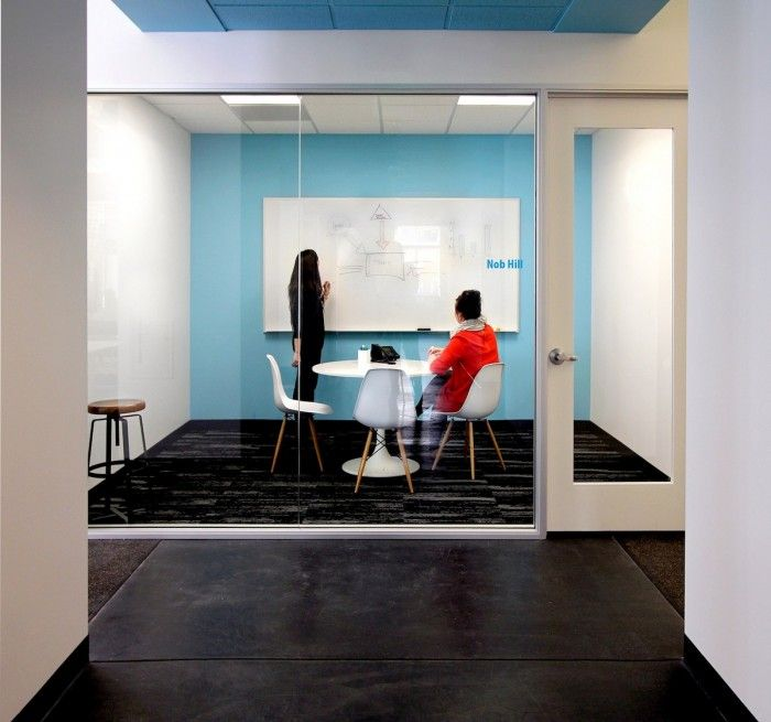 office by design. internet real estate company zillow has recently revamped their san francisco office space with the help by design f