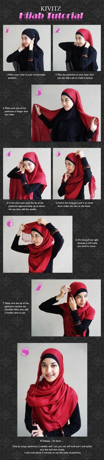 Kivitz hijab tutorial