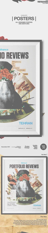   Posters   Behance Portfolio Review Week Tehran on Behance